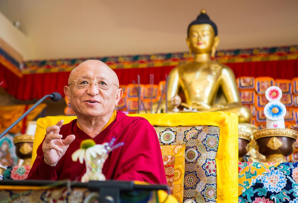 Chokyi Nyima Rinpoche Buddhist Lama
