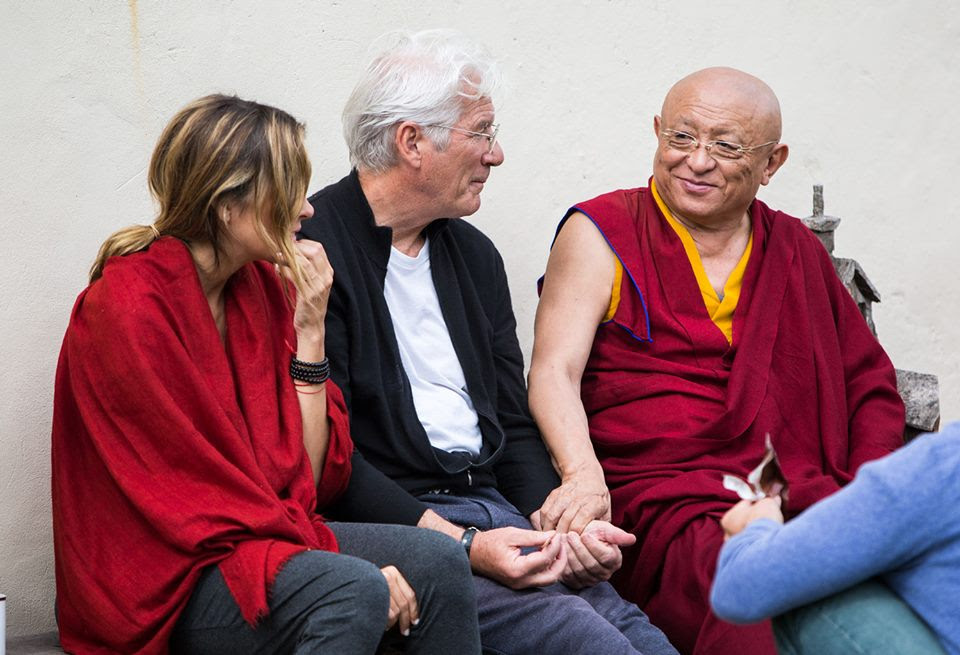 chokyi nyima rinpoche and richard gere