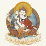 Guru Rinpoche and Yeshe Tsogyal