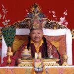 Молитва-прагнення швидкого повернення Цикея Чоклінґа Рінпочє, написана Його Святістю Далай Ламою XIV